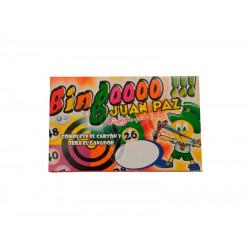 Bingo Economico Juan Paz ( Tablas de Carton x 40)