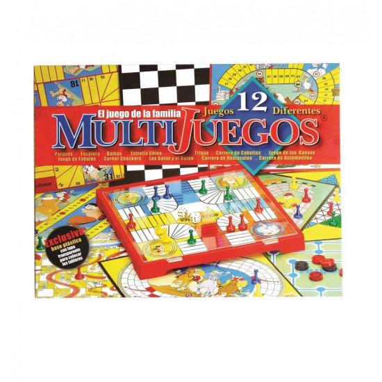Multijuegos X 12 Caja